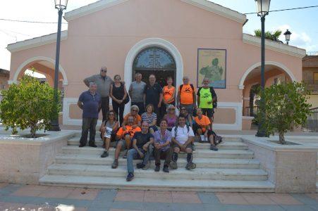 Peregrinación Grupo Ateneo. Etapa Elche – Granja de Rocamora.
