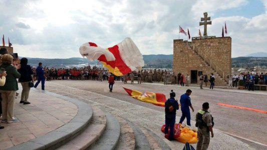 Peregrinación del Ejército del Aire a Caravaca de la Cruz.