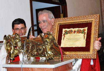 HOMENAJE A D. ANTONIO ROCAMORA SÁNCHEZ