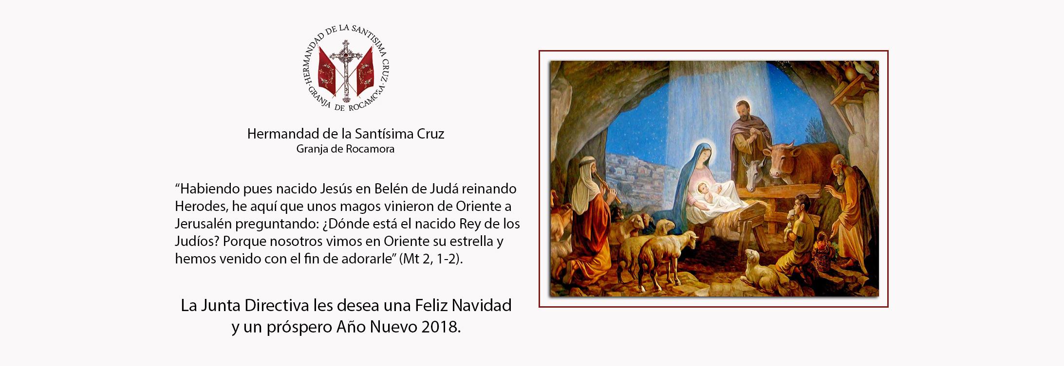 Carta de Navidad y Programación 2018